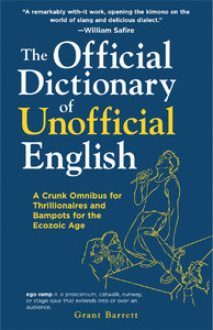 official dictionary of unofficial english