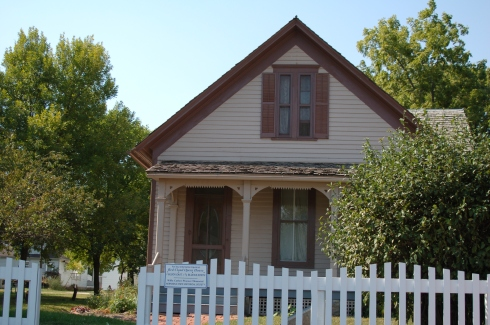 The Cather family lived in this home from 1884 to 1904.