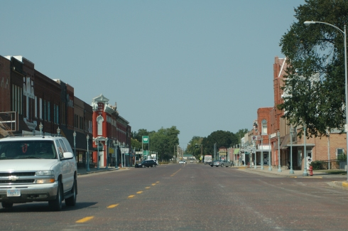 Main street :: Red Cloud, Nebraska