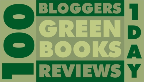 Green Books, button by Susan Newman