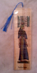 Egyptian bookmark