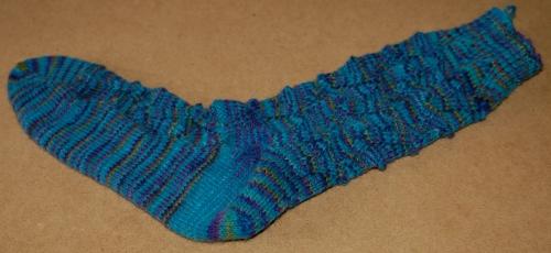 Rivercat sock