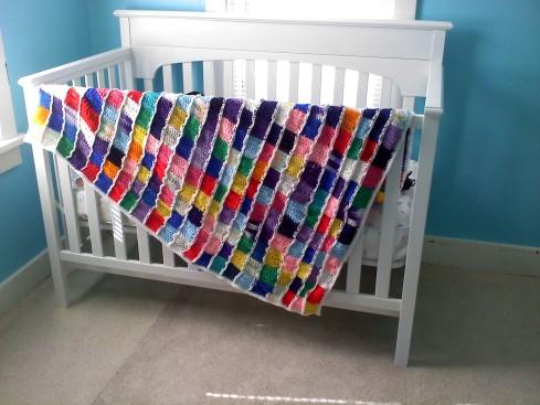 Full Circle Baby Blanket