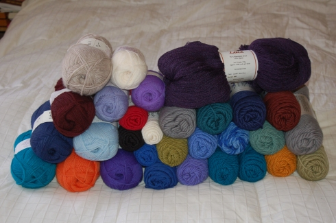 Yarn from Brown Sheep