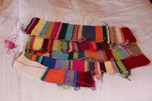 Blanket of Stripey Colors