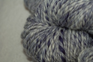 Closeup of the 3-ply.