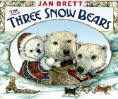 three snow bears
